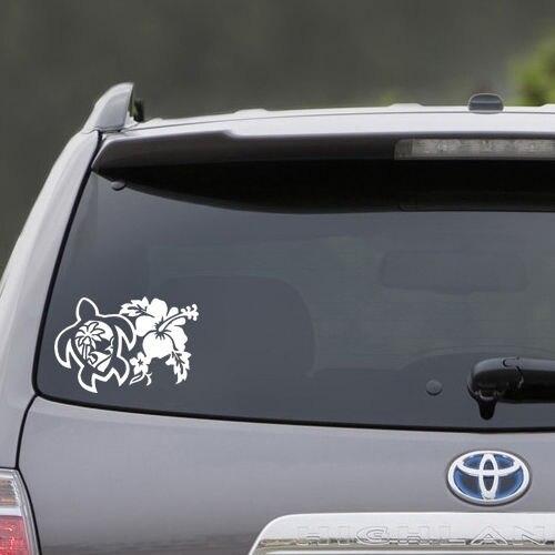 ROXY Vinyl Decal Sticker Car Truck Window SUV laptop Wall FLOWERS HAWAIIAN
