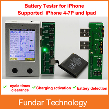 Free shipping Fast arrival Apple iPhone Battery Tester for iPhone 4 4S 5 5S 5C 6 6P 6S 6SP 7 7P a key clear cycle(China)