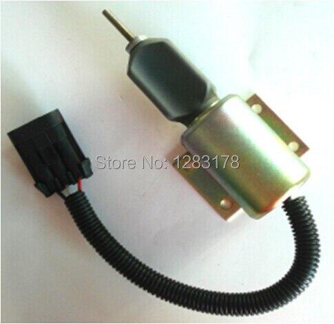Shutdown solenoid SA-4532-12 with commander protector SA-4532 12V<br>