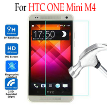 For HTC ONE Mini M4 Tempered Glass For HTC 601s Lte 601n Hspa 601e m 4 Phone Screen Protector Cover Protective Film Case