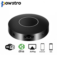 Powstro Wireless Display Receiver 1080P Wireless Display Dongle WIFI Mirroring Device HD AV Output for Computer Projector TV(China)