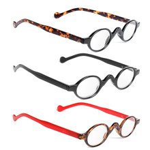 Vintage Small Round Frame Men Women Readers Reading Glasses Presbyopic Glasses(China)