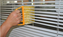 Hot sale Washable Multifation Cleaning Window Blinds Brush Air Conditioning Cleaner Shutter Home Tool Dust Cleaning Brush