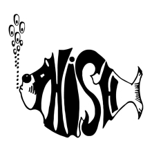 HotMeiNi Lid styles Phish Fish Car Sticker Removable Window Laptop Die Cut Vinyl Decal(China)