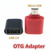 Mini OTG Cable USB OTG Adapter Micro USB Male to USB 2.0 Female Converter Adapter for Tablet PC Android Samsung Xiaomi HTC Phone