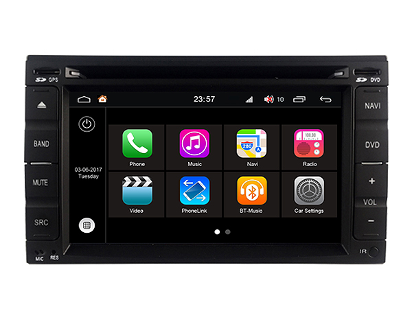 S190 Android 7.1 car dvd gps For NISSAN Universal Old Car Audio player navigation head unit device BT WIFI 3G
