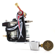 Liner Tattoo gun Custom Coil Tattoo Machine for Tattoo Supply Free Shipping Tattoo Equipment Makeup Machine(China)