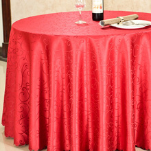 Luxury Round Table Cover Rectangle Table Cloth Hotel Wedding Christmas Tablecloth Machine Washable Fabric Cloth Table Gold Red