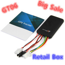 GT06 Mini Car GPS Tracker SMS GSM GPRS Vehicle Online Tracking System Monitor Remote Control Alarm for Motorcycle Locator Device