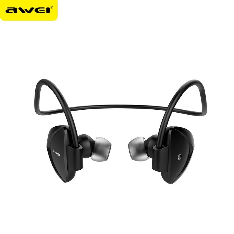 AB19313/14 Awei A840BL NFC Wireless Bluetooth v4.0 Headset Sweatproof Sport Earphone Music 3D Surround Sound Headphones With Mic<br><br>Aliexpress