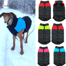Buy Waterproof Pet Dog Puppy Vest Jacket Winter Warm Clothing Dog Clothes Coat Ski Suit Small Medium Large Dogs 4 Colors S-XL for $5.03 in AliExpress store