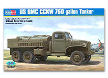 Hobby Boss 1/35 scale tank models 83830 World War II US GMC CCKW 750 gallons fuel supply truck