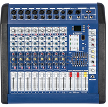 9 Channel Karaoke DJ Mixer Sound Musical 700W Powered Audio Mixer Console MPQ900 PC TV Amplifie System Profesional