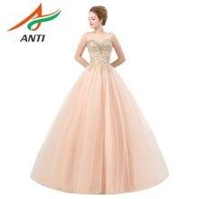 ANTI High-quality Pink Bridal Sequined Appliques Wedding Dress 2018 White Wedding  Dresses Court Train Vestidos De Noiva India e983ee468d17