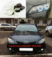 For Toyota Camry 2006 2007 2008 2009 Altise Excellent Ultra bright headlight illumination CCFL Angel Eyes kit Halo Ring