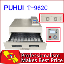 PUHUI T-962C T962C Infrared IC heater reflow oven wave BGA 600*400mm,Quality Guarantee