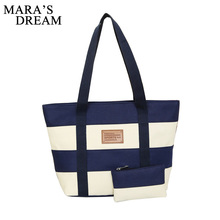 Mara's Dream 2018 Luxury Handbags Women Bags Designer High Quality Canvas Casual Tote Bags Shoulder Bags Female Bolsa Feminina(China)