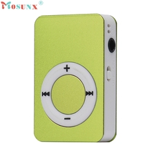 Portable USB Digital Mini Mp3 Music Player Support 8GB Micro SD/TF Card_KXL0622