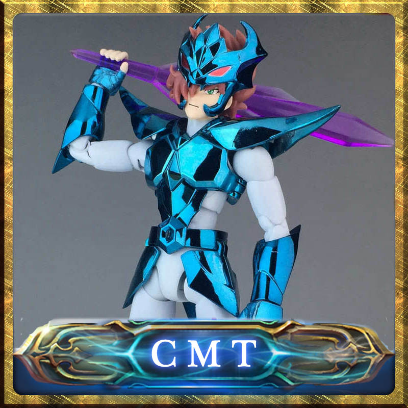 CMT INSTOCK Aurora Model Cs Model Saint Seiya God Warrior Megrez Delta Alberich Anime action figure Cloth Myth Metal Armor<br>