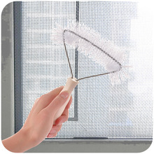 Mosquito screens dedicated cleaning brush, window cleaning window wiper sweeping brush, dusting brush invisible screens K4766(China)