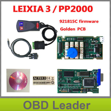 Lexia3 PP2000 Car Auto diagnostic tool V48/V25 Lexia 3 Diagbox with golden pcb -FREE SHIPPING