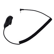 1 PIN  With light Handheld Speaker MIC-M2 for walkie talkie Motorola Radio T6200/T6500/270 FRS 5512/6300 Earpieces