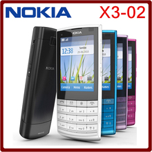 Best selling in Poland Original Nokia X3-02 3G Mobile Phone 5.0MP with Russian Keyboard polish language One year Warranty(China)