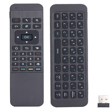 New Mini 2.4G Wireless Keyboard Infrared Remote Learning Remote Control For Andriod TV Box HTPC Free Shipping