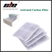 4 pcs/lot Activated Carbon Filter 1.8L LED Automatic Cat Dog Kitten Water Drinking Fountain Pet Bowl Drink Dish Filter