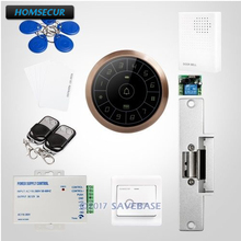 HOMSECUR IP67 Fully-Potted Waterproof Wiegand 26/34 RFID Access Control System Supporting Card Only, PIN Only, Card+PIN(China)