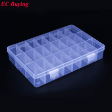 1 pcs New Arrival 24 Cells SMD SMT IC Electronic Component Mini Storage Box and Practical Jewelry Storaged Case 200*150*40 mm(China)