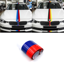 Car-Styling Stickers Decals Decoration Decals Vinyl Flag BMW E46 Mini Cooper Vw Golf 4 5 6 Amg Skoda Lada Audi Volvo mazda 2