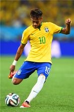Neymar Poster Neymar JR Posters World Cup Wall Sticker Soccer Ball Wallpapers Canvas Prints Barcelona Football Stickers #2129#