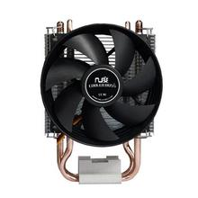 NEW 90mm fan, 2 heatpipe, side-blown, for Intel LGA775 1150 115x, FM1 AM2 AM3 FM2, CPU cooler,CoolerBoss SLF-343S Free shippin
