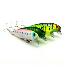 Export of Direct plastic fishing lures Mino really 10.51cm 4 suit 15.41g color environmental protection bait bait(China)