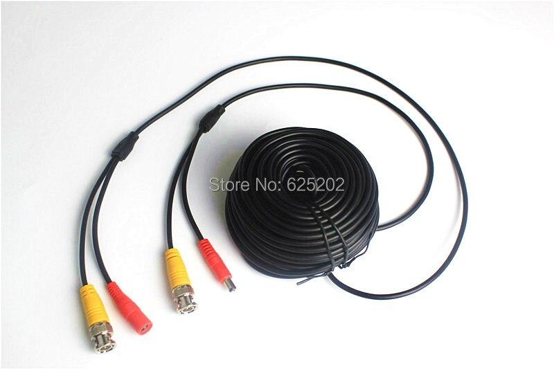 BNC DC Connectors CCTV Camera Extension Cable 50M<br>