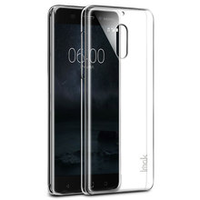 Transparent Hard Plastic Case for Nokia 6 Case Ultra Thin Crystal Clear PC Back Cover For Nokia6 2017 Shock Proof Phone Cases