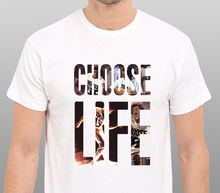 2017 Latest Choose Life Wham Tribute To George Michael Design Fashion T Shirt Hipster Tops Printed Short Sleeve Tees