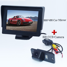 "High Resolution 4.3"" Color TFT LCD  Car Monitors  For  BMW E46 E39 X3 X5 X6 E60 E61 E62 E90 E91 E92 E53 E70 E71 Promotion"