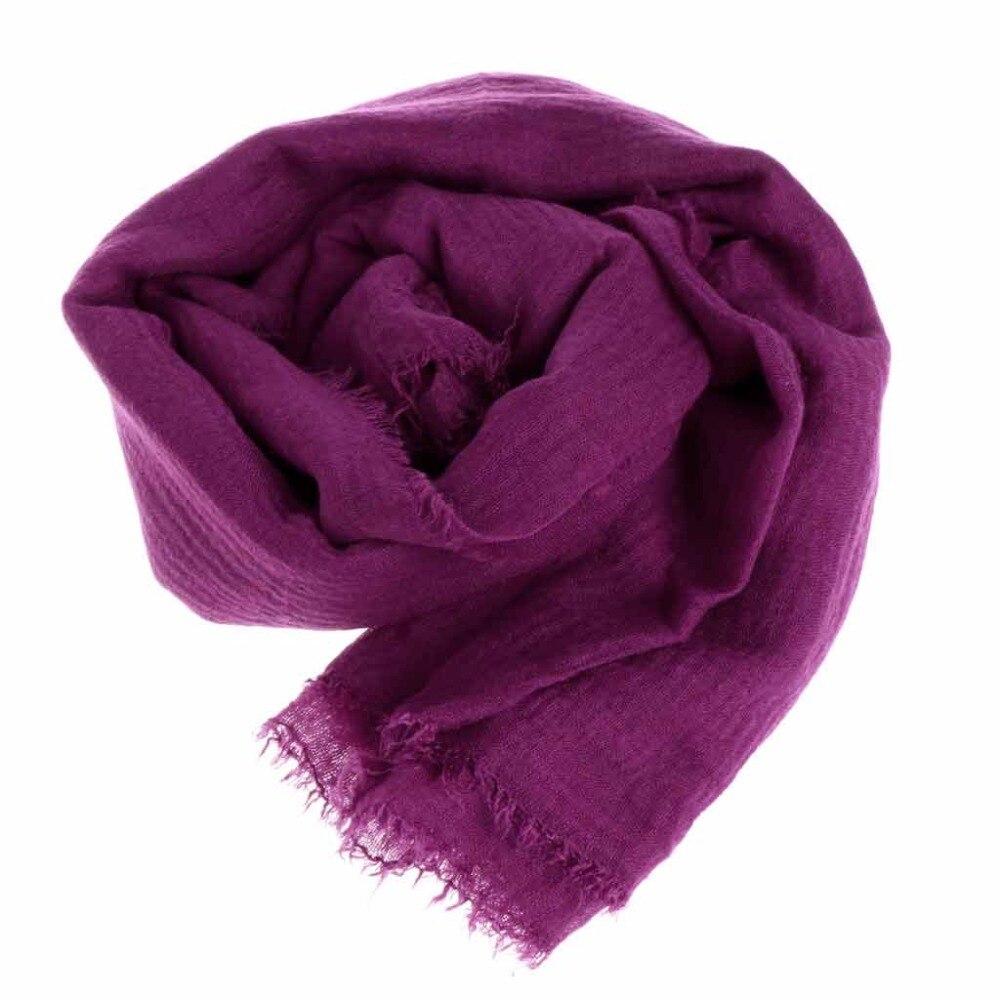 Women Crinkle Cloud Hijab Scarf Shawl Muslim Long Shawl Stole Wrap 10