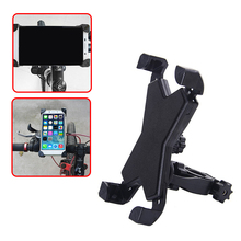 1 piece PVC Universal Bicycle Handlebar Mount Bracket Bike Mobile Phone Support Holder Stand Free Shipping+Tracking No