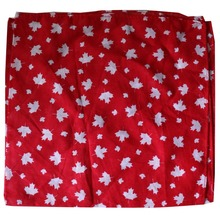 Free Shipping 2017 New Women Mens Cotton Black White Red Maple Leaf Scarf Bandanas