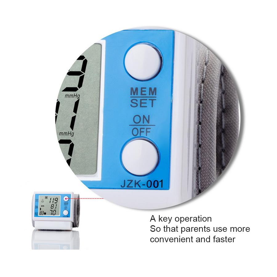 Household intelligent Electronic Upper Arm blood pressure monitor Digital LCD sphygmomanometer Health Care 3