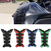 Carbon Fiber 3D Motorcycle Tank Pad Anti-scratch Tankpad Decal Oil Gas Protector Sticker For Honda kawasaki yamaha suzuki