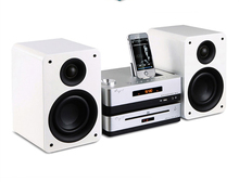 QUEENWAY HiFi audio Cayin MM-5 Fashion Bluetooth Version 6N1 amplifier + CD player + speaker mini stereo desktop system
