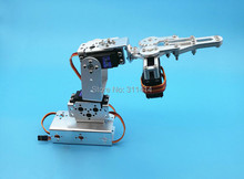 1set 3 Dof Mechanical Arm Clamp Claw Mount Kit For Remote Control Smart Robot DIY Model Promotion