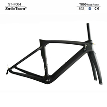 SmileTeam New Model XR4 Carbon Road Bike Frame Carbon Racing Road Bicycle Frameset With Fork seatpost 3 Colors Available