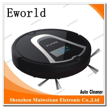 Eworld Robotic Vacum M884  2016 New Products Home Appliance Robot Vacuum Cleaner with Mop Cleaning and Auto-Recharging