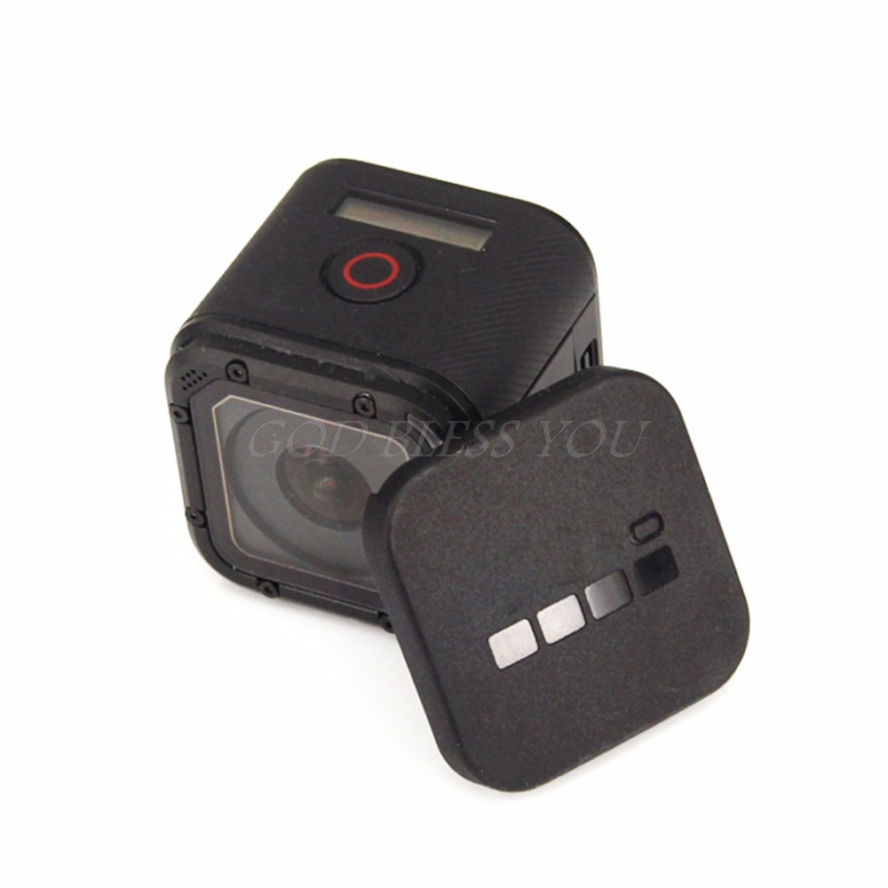 CAOMING Silicone Lens Cap for Xiaomi Yi//GoPro Hero4 Color : White 3 Durable 3+