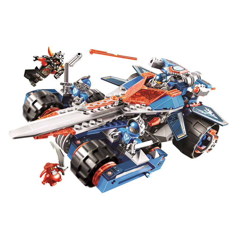 LEPIN 14012 Nexus Knights Clays Rumble Blade Jestro Clay Building Block Scurrier  Compatible with gift 70315<br><br>Aliexpress